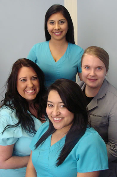 family dental care staff